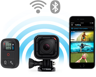 Wi-Fi и BlueTooth в HERO4 Session